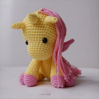Amigurumi Pattern - Peachy Rose the Unicorn